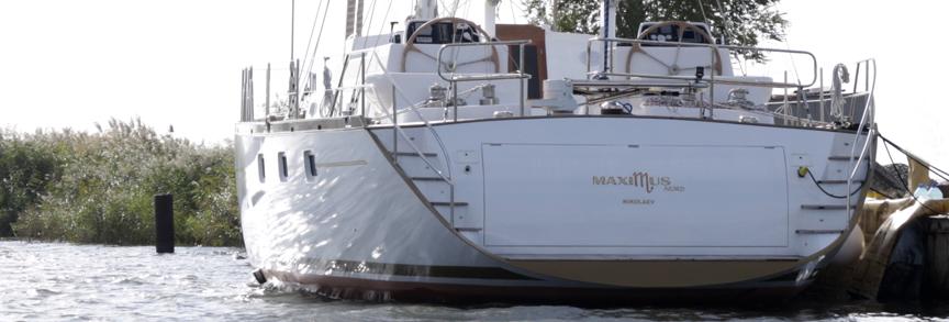 Парусно-моторная яхта Maximus Nord