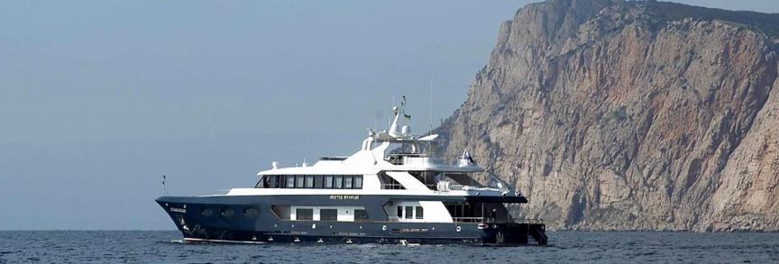 Моторная яхта Святой Николай